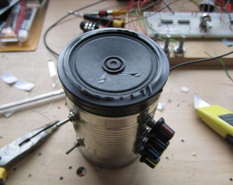 KIT TO BUILD - Beep Poet 2 - Lofi Electronic Noise Maker In A Can