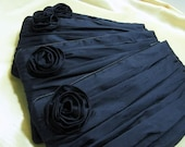 Clutch Play- Silk in Navy Blue