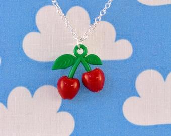Rockabilly Cherry Necklace