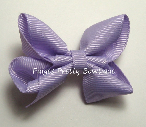 """2.25"""" LavenderBoutique Hair Bow-Toddler Hair Bow-Child Hair Bow-Boutique Bow"""