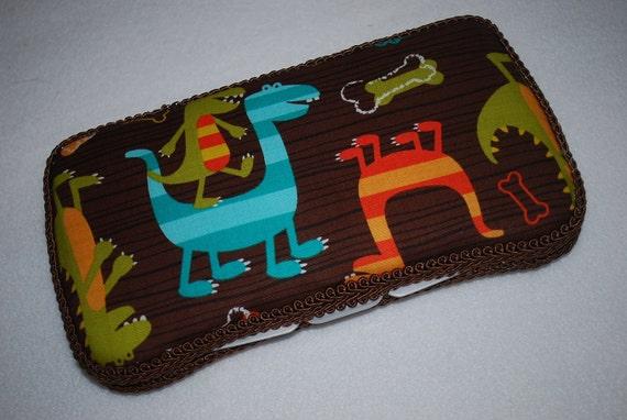 Boutique Baby Wipe Case - Dino Dudes
