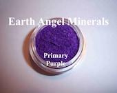PRIMARY PURPLE - True Grape Eye Shimmer - Celiac & Vegan Friendly - Bright, Vivid - GLUTEN Free