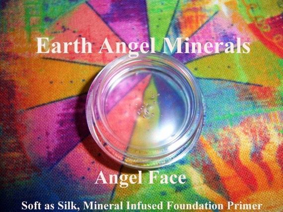 ANGEL FACE Primer - Mineral & Botanical Infused Foundation Primer - Silky Soft Primer - Smooth out lines, pores, wrinkles - Miracle in a Jar