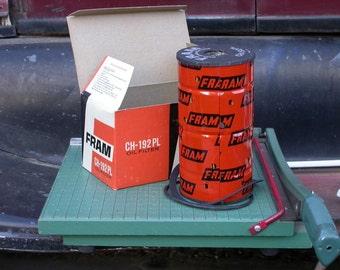 oil filter, CH-192PL,1 vintage, NOS FRAM. chrysler ,mopar, 1950 1960, gas station, man cave