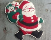 1948-52 Occupied JAPAN Santa With Toy Sack Ornament