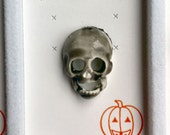 1960s-70s Vintage HALLOWEEN Pin SKELETON SKULL Design