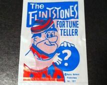 1977 FRED FLINTSTONE Fortune Teller Novelty Carnival Toy