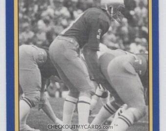 1990 Notre Dame JOE MONTANA College Card No 170 Hall of Fame Quarterback