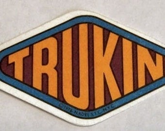 1976 Vintage Thermal Patch TRUCKIN