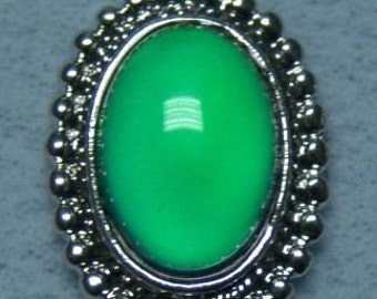 1970s Fancy Mood Ring RARE Large Bead 233