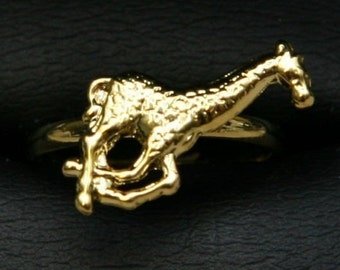 1950s Cole Brothers Circus Gold Ring GIRAFFE
