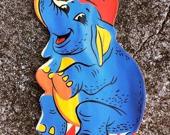 1960s Ringling Bros Barnum n Bailey Souvenir Purse ELEPHANT