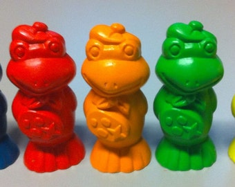 Special Listing for evetterice1 only FIVE Artist Frog Toppers