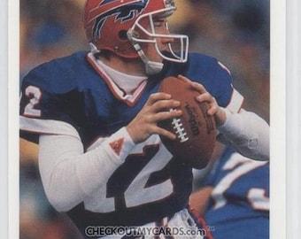 Rare 1991 Dominos Pizza Quarterback Card JIM KELLY