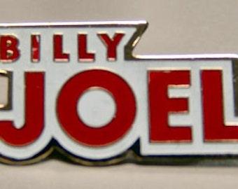 1977 Billy Joel enamel concert pin MINT