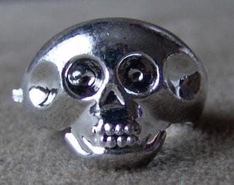 Original 1950s-60s Penny King Ring SKULL