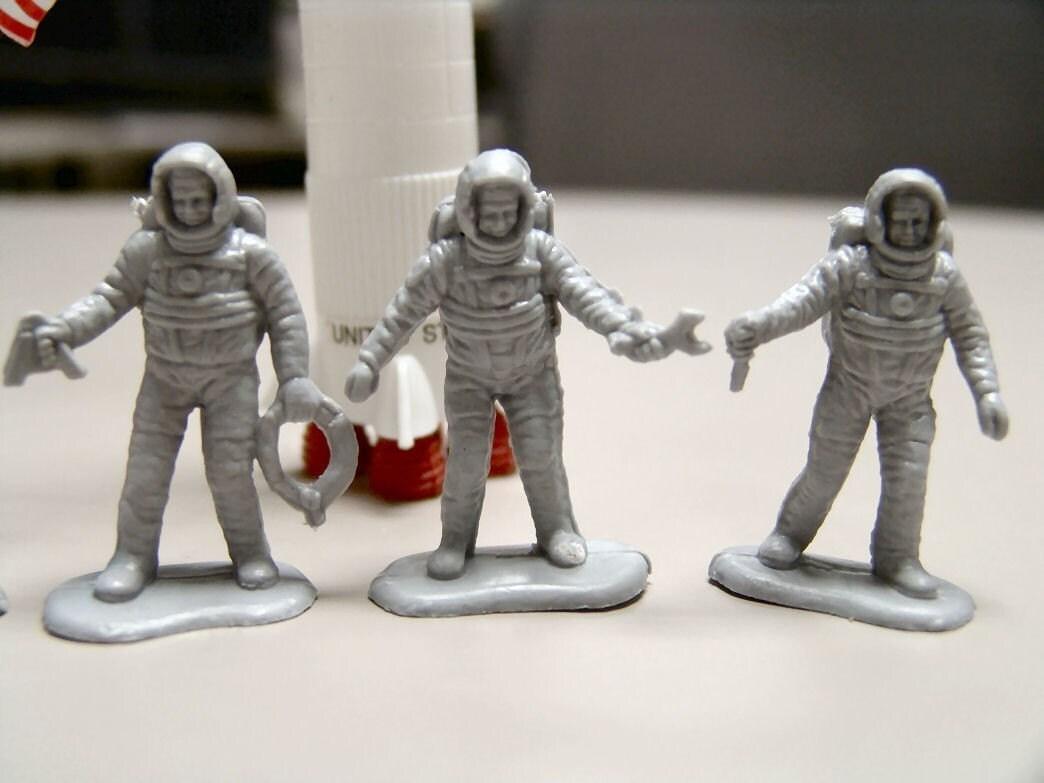 apollo astronauts 1960 s marx plastic figures - photo #26