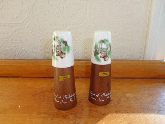 Skinny Elk Salt and Pepper shakers