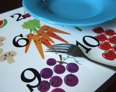 Placemat - Kitchen Numbers - Customizable