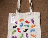 Rainbow Kittens - 100% Cotton Tote Bag