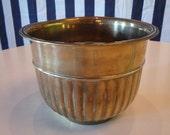 Vintage brass bowl
