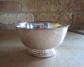 "5"" Gorham silver plated Paul Revere bowl"