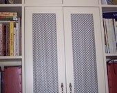 Cabinet curtains - 2 panels