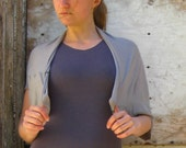 SALE - Popover Bolero Shrug (Soy or Bamboo Organic Cotton)