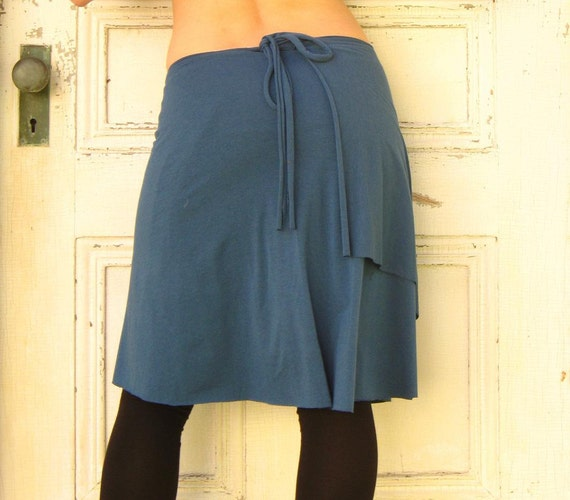 Organic Wrap Skirt (Soy or Bamboo Organic Cotton)