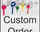 Custom Order for jen8 - Resin Magnet