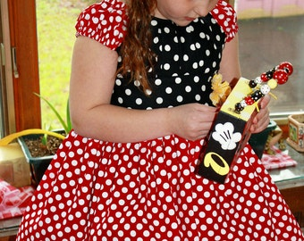 Minnie Mouse Polka Dot Dress 3-8