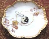 Yin Yang Zipper Pull Purse or Wallet Charm