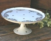 French Cake Plate Stand