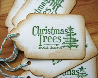 Christmas Tree  Christmas Gift Tags Holiday Tags