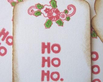 Ho Ho Ho Christmas Gift Tags