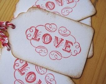 Love Valentine Tags