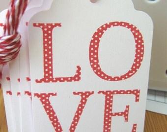 Wedding Wish Valentine Love Tags