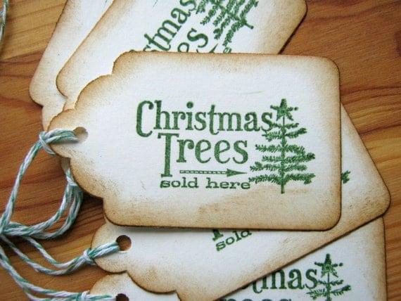 Christmas Tree  Christmas Gift Tags Holiday Tags