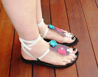 My Pick Sandal - Leather Attachment