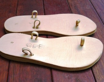 Leather Sandal - My Pick - Natural colour Base
