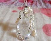 clear bubble necklace