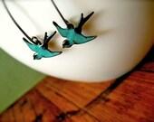 SALE - Bird in Flight Earrings