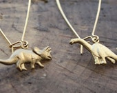 Natural History Dinosaur Earrings
