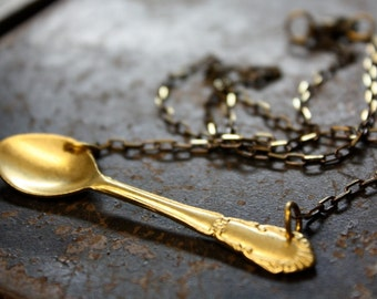 Miniature Spoon Necklace