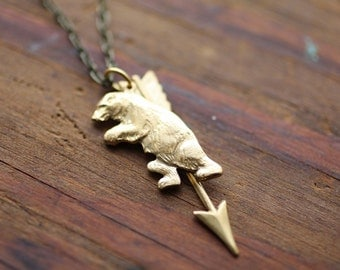 Great Bear and Archer Constellation Necklace