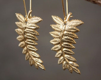 It's a Jungle Out There Fern Earrings