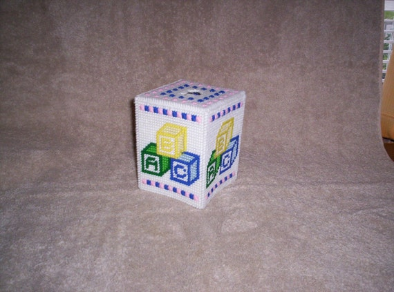 ABC Tissue Box Cover