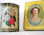 RESERVED: A Couple of Brit-Tins (ELIZABETH ONLY)