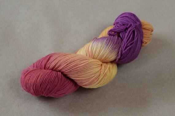 Handgefaerbt sock yarn - De-Stash