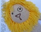 Samson the Lion - Crochet Pattern PDF